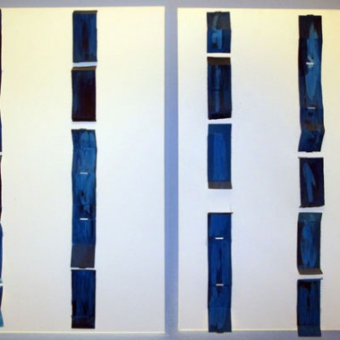 SEA | 2009 | COMPOSITION ON CANVAS | 1,40 x 1,00m