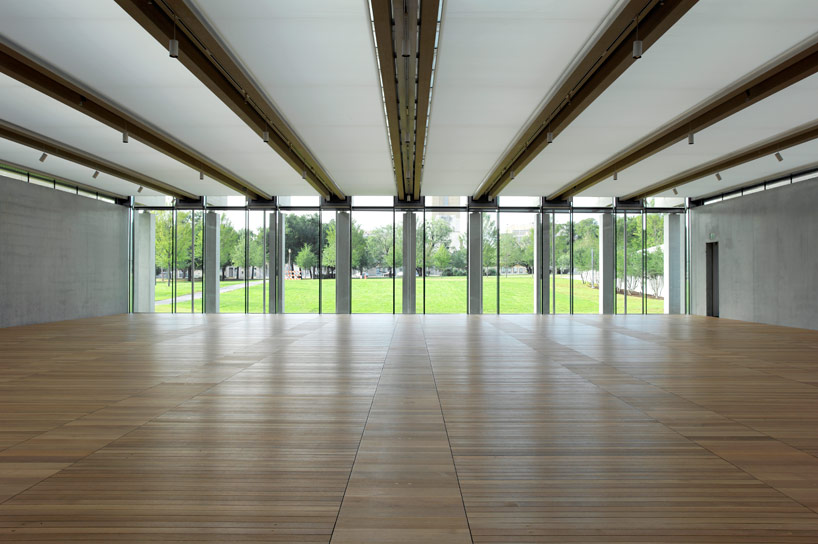 Eva Ampazi Architects Amp Associates 187 Pavilion At Kimbell