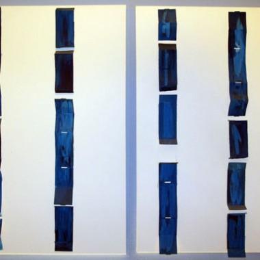 SEA | 2009 | COMPOSITION ON CANVAS | 1,40 x 1,00m