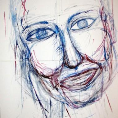 FACE | 2008 | ACRYLIC ON CANVAS | 1,40 x 2,00m